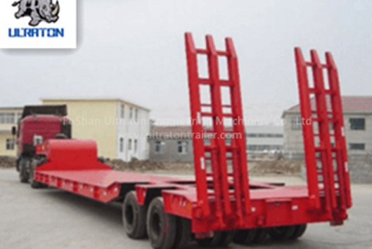 40-60 Ton Low Bed Semi Trailer