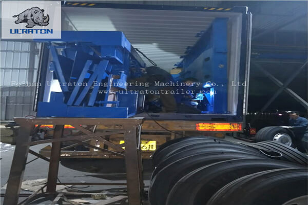 Flatbed Semi Trailer To Tanzania-5